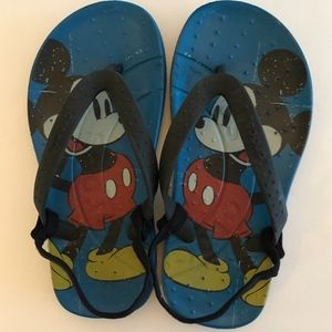 Kids Mickey Mouse Croc Sandals